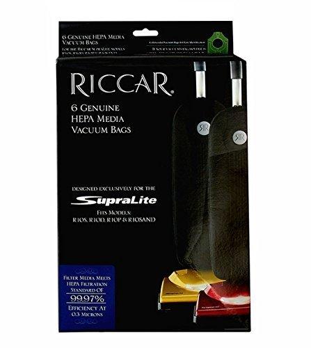RICCAR SUPERLITE HEPA VACUUM BAGS RLH-6