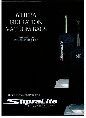 Riccar Vacuum Cleaner HEPA Bags - Type F6 count