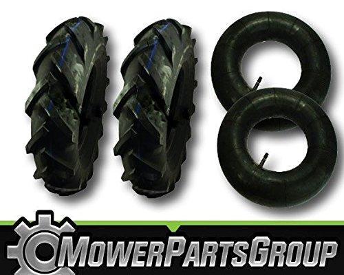 MowerPartsGroup D071 2 Troy Bilt Big Red Garden Tiller Tires 48x4x8 48x4-8 MTD Tubes