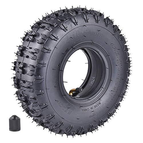 410-4 410-4 410350-4 Inner Tube  Tire for Garden Rototiller Snow Blower Mowers Hand Truck Wheelbarrow Go Cart Kid ATV