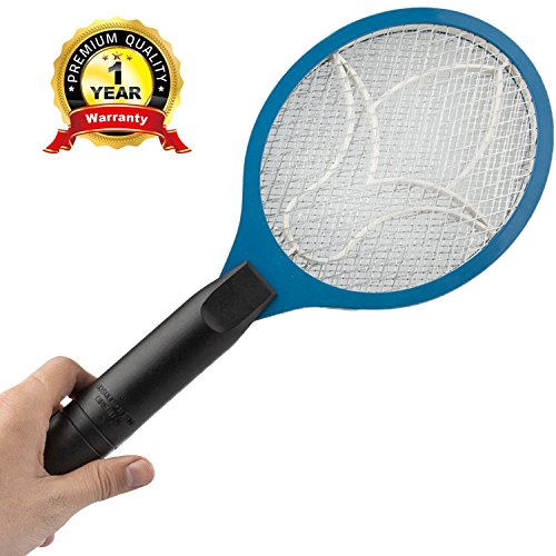 upgrade Version Itemporia&reg Electric Bug Zapper Fly Swatter Zap Mosquito Zapper W Protective Grid And Activating