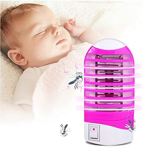 LED Mosquito Killer Lamp Night Light 110V-220V Repellent Bug UV Mini Night Light Mosquito Electric USEU Plug
