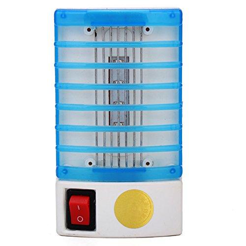 110V 220V Both Compatible US Plug Upgraded LED Socket Electric Mosquito Lamp Zapper Trap Killer