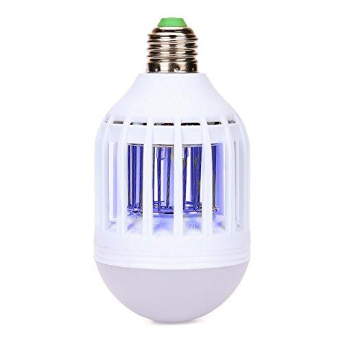 Acrato Mosquito Killer Bulb Mosquito Killer Lamp Pest Control Bug Zapper Mosquito Repellent Trap 2 In 1 Led Light