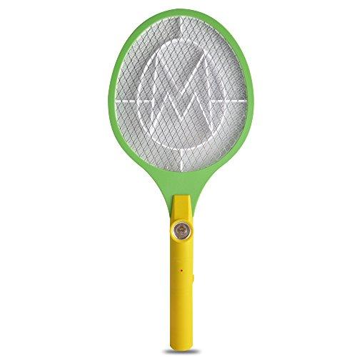 YT Indoor OutDoor Bug Zapper Mosquito Swatter RacketGreen