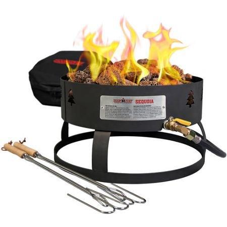 Camp Chef Sequoia Portable Fire Pit Black Black