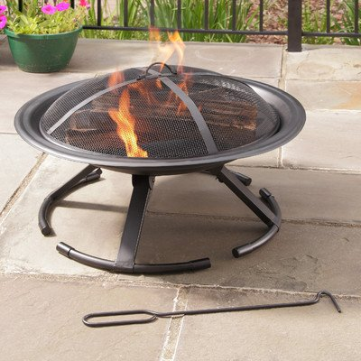 Grab N Go Wood Burning Fire Pit