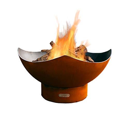 Fire Pit Art Manta Ray Wood Fire Pit Manta-Ray