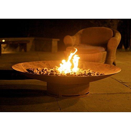 Fire Pit Art Asia 48-FPA-MLS120-LP Fire Pit LP Metal