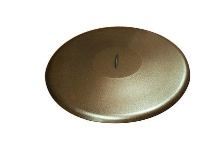 HPC Round Aluminum Fire Pit Cover 36 Inch Copper Vein
