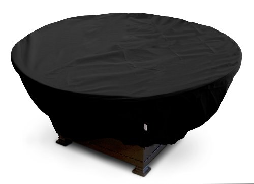 Koverroos Weathermax 73067 Large Firepit Cover 45-inch Diameter By 21-inch Height Black
