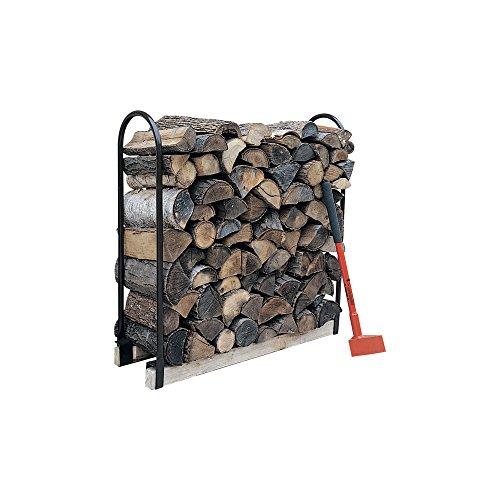 Ironton Steel Wood Rack Log Storage Crib