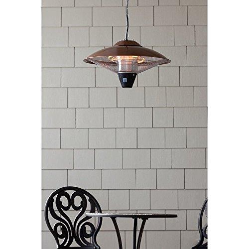 Fire Sense Hanging Copper Finish Halogen Patio Heater - 60660 hj7-545mki94 G1493249