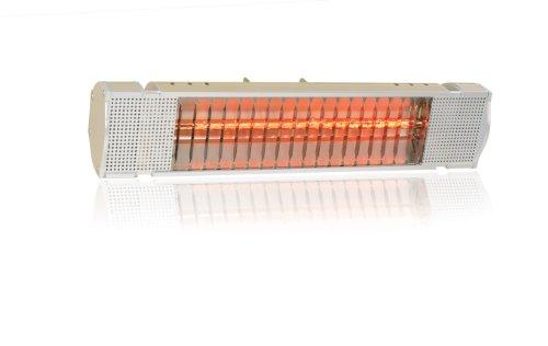 Heatmaster Elite Electric Infrared Halogen Patio Heater - Gold 1500W