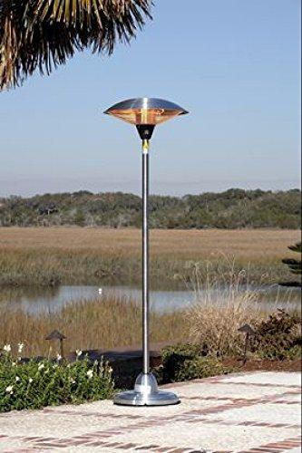Wholesale Fire Sense Stainless Steel Floor Standing Round Halogen Patio Heater outdoor Patio Heating