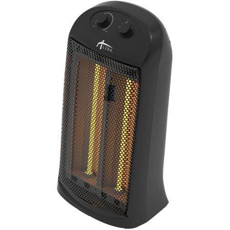Alera Quartz Tower Heater 13 14W x 10 18D x 23 14H Black