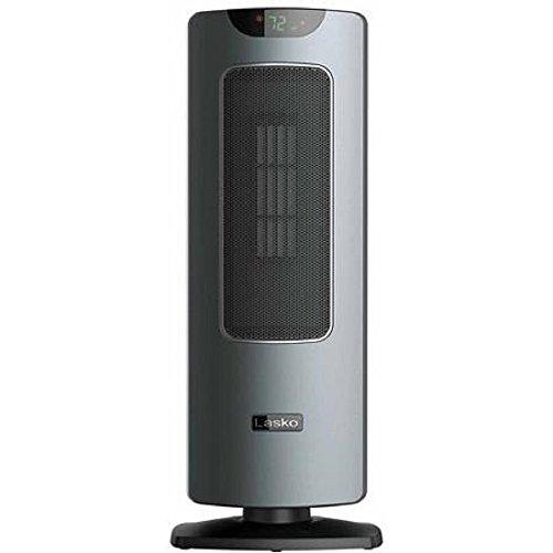 Lasko Free Standing Tower-like Ceramic Heater Silver