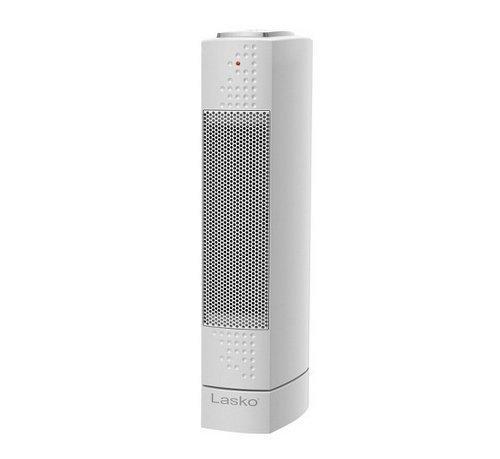 Lasko Ultra Slim Ceramic Desktop Tower Heater - White Model Ct14102 Hardware Store