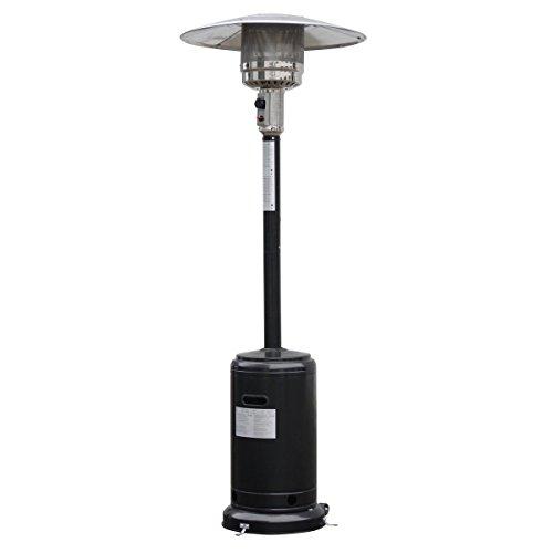 Lomic Garden Outdoor Patio Heater Propane Standing Lp Gas Steel Waccessories Black