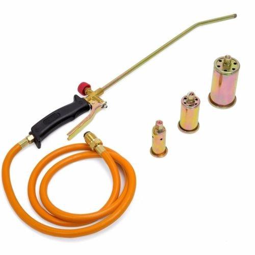 Balance World Inc Portable Propane Weed Torch Burner Fire Starter Ice Melter Melting w Nozzles