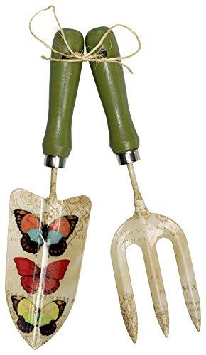 CR Gibson Eden Galvanized Garden Trowel Set