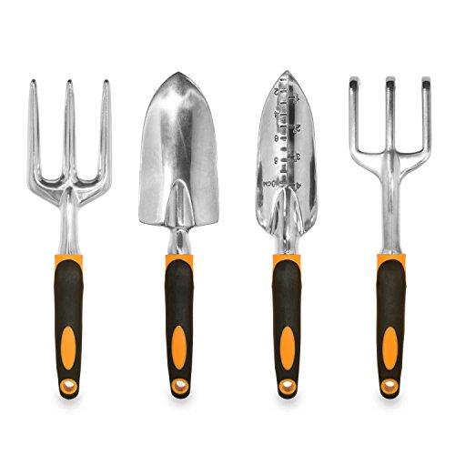 Myvision Ergonomic Garden Tools 4 Piece Tool Set