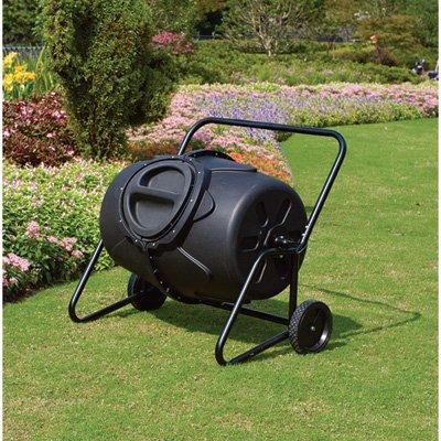 50-gallon Wheeled Composter Tumbler