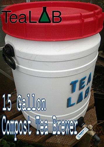 Compost Tea Brewer  15 Gallon  Convenient Size for the Avid Home Gardener
