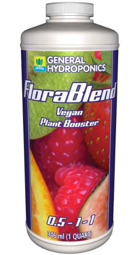 General Hydroponics Flora Blend-Vegan Compost Tea Fertilizer 1 Qt