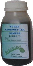 Super Compost Tea organic plant food 8oz SAMPLE