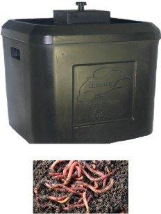 VermiPRO TUUG 19 Planter BoxWorm Bin Combination Kit Dark Green