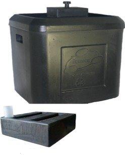 VermiPRO TUUG 19 Planter BoxWorm BinWicking Tank Combination Dark Green