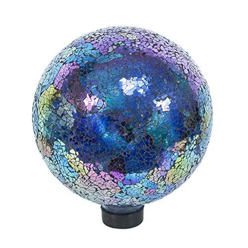 Echo Valley 8196 10-Inch Mosaic Glass Gazing Globe Arco Iris