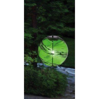 Evergreen Enterprises Eg2sp3864 Green Hanging Solar Gazing Ball