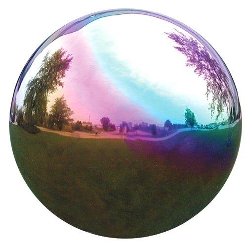 VCS RNB08 Mirror Ball 8-Inch Rainbow Stainless Steel Gazing Globe