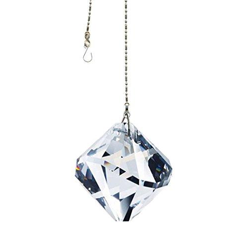 Rainbow Maker Swarovski Crystal 40mm Prism SunCatcher for Window Hanging Feng Shui