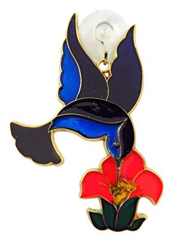 Westman Works Hummingbird and Flower Suncatcher Window Ornament Decoration Gift Boxed