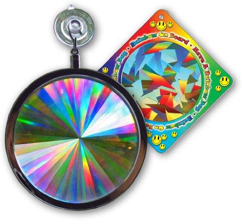 Suncatcher - Axicon Rainbow Window - Includes Bonusquotrainbow On Board&quot Sun Catcher