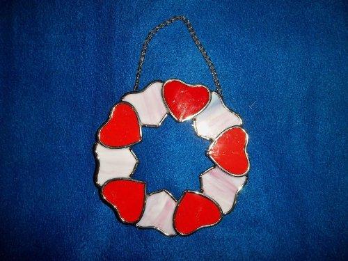 Hearts Suncatcher 5 12 Inch Diameter