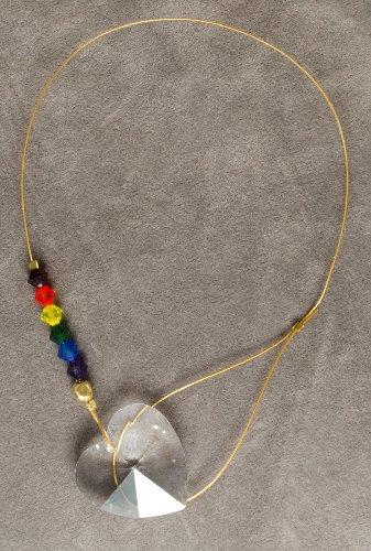 Swarovski Crystal Heart Suncatcher with variety of small crystals