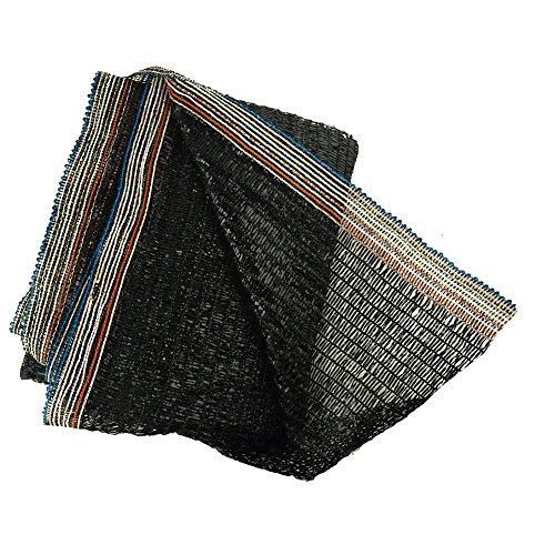 40 Black 65x10 Sun Mesh Shade Sunblock Shade Cloth Uv Resistant Net For Garden Flower Plant