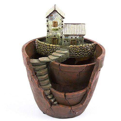 Plants Pothgrope Tiny Creative Flower Pot Holdershanging Garden Design With Sweet House