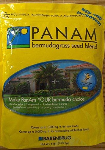Panama PanAm Bermuda Grass Seed Blend - CASE 6 x 5 lb bags