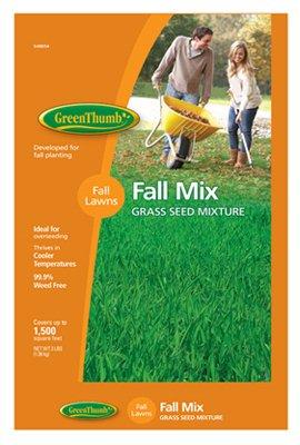 Barenbrug 548654 Green Thumb 3LB Fall Grass Seed