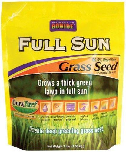 Bonide 60201 Full Sun Grass Seed 3-Pound