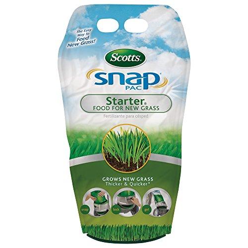 Scotts 24600 Snap Pack Starter Food for New Grass Lawn Fertilizer 3 Pack 1310 lb