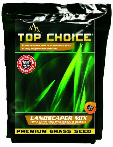 Top Choice 17626 3-way Perennial Ryegrass Grass Seed Mixture 3-pound
