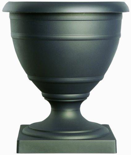 Akro Mils Rua16000g18 16-inch Olympia Marina Series Urn Black Onyx