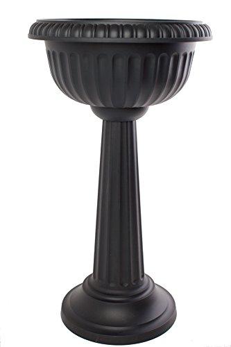 Bloem Gu180-00 Grecian Urn 18-inch Black