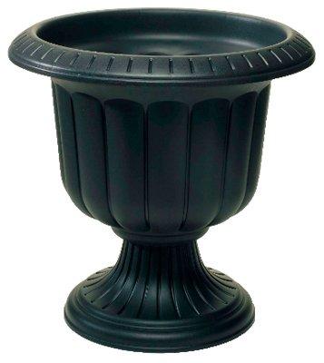 Novelty Mfg  38198 19 Black Classic Porch Urn Planter - Quantity 5